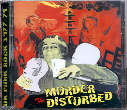 MURDER THE DISTURBED - Talking Rubbish CD (NEW)