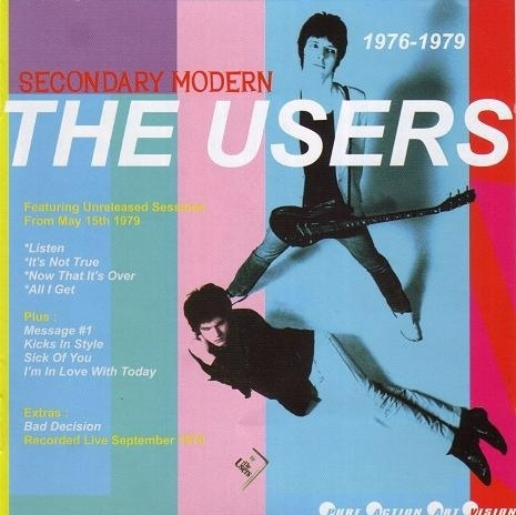 USERS, THE - Secondary Modern 1976 - 1979 CD (NEW)