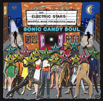ELECTRIC STARS, THE - Sonic Candy Soul DOWNLOAD - DETOUR RECORDS