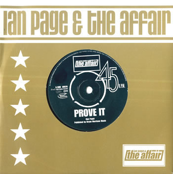 IAN PAGE & THE AFFAIR - Prove It EP CD SINGLE (NEW)