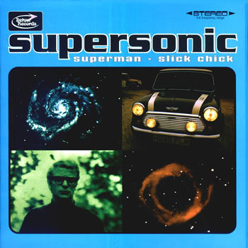 "SUPERSONIC - Superman 7"" + P/S (NEW)"