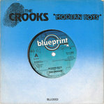 "CROOKS, THE - Modern Boys 7"" + P/S - (EX-/EX)  (M)"