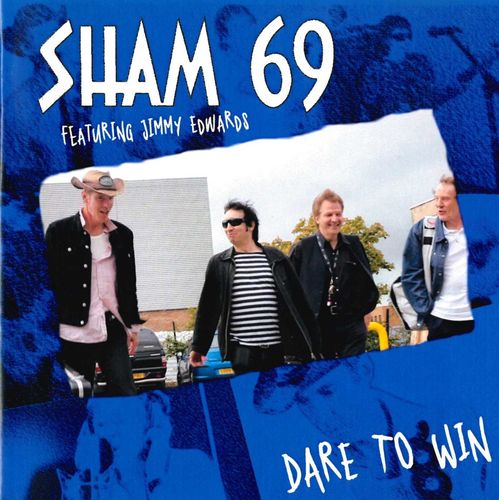 SHAM 69 Featuring JIMMY EDWARDS - Dare To Win / Just Ordinary CDs (NEW)