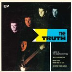 "TRUTH, THE - A Step In The Right Direction EP - 7"" + P/S (VG+/VG+) (M)"