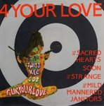 "V/A - 4 Your Love E.P - 7"" + P/S (EX/EX) (M)"