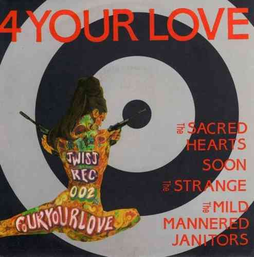 "V/A - 4 Your Love E.P - 7"" + P/S (NEW) (M)"