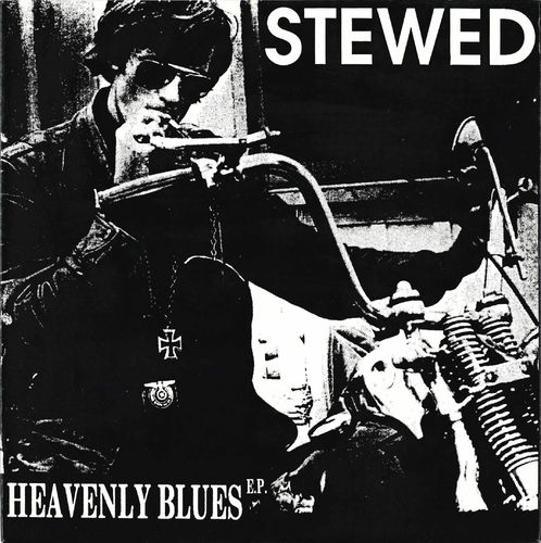 "STEWED - Heavenly Blues EP 7"" + P/S (NEW) (M)"