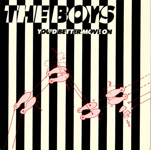 "BOYS, THE - You Better Move On - 7"" (+ P/S) (VG+/VG+) (P)"