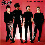 "SKIDS, THE - Into The Valley (WHITE VINYL) - 7"" + P/S (EX/EX) (P)"