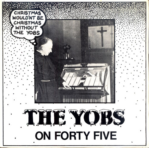"YOBS, THE - On Forty Five (EDGE WARPED) - 7"" (+ P/S) (EX/EX) (P)"
