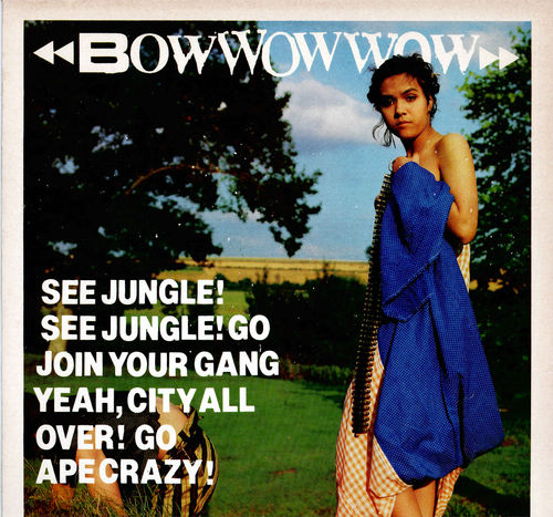 BOW WOW WOW - See Jungle! See Jungle! - LP (VG+/EX) (P)
