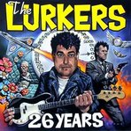 LURKERS, THE - 26 Years (BLUE VINYL) LP (NEW) (P)