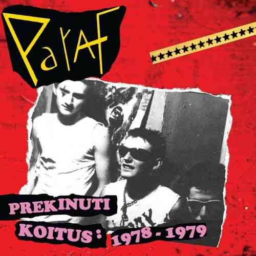 PARAF - Prekinuti Koitus (GREEN VINYL)  LP + CD (NEW)  (P)