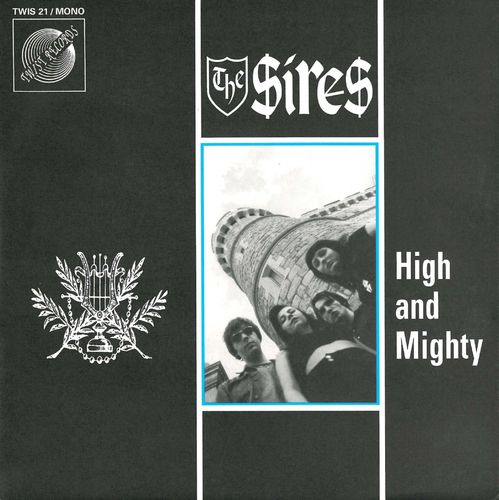 "SIRES, THE - High And Mighty EP 7"" + P/S (VG+/EX) (M)"