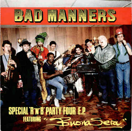 "BAD MANNERS - Special  R'n'B Party Four E.P - 7"" (VG+/VG+) (Ska)"
