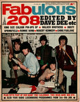 FABULOUS 208 - 7th January 1967 MUSIC PAPER (VG)