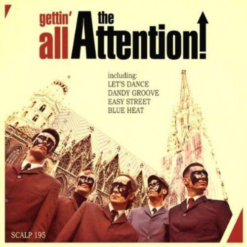 ATTENTION, THE - Gettin' All .... LP (NEW) (M)