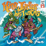 "KING JARTUR & HIS LORDS - Summer Fun EP 7"" + P/S (NEW) (M)"
