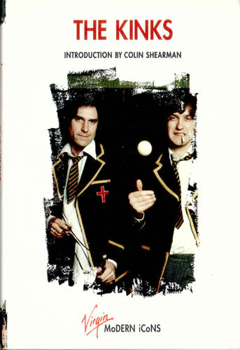 KINKS, THE - Modern Icons BOOK (NEW) (F1)