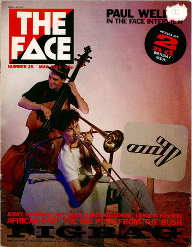 THE FACE - Issue 25 MAGAZINE (VG+)