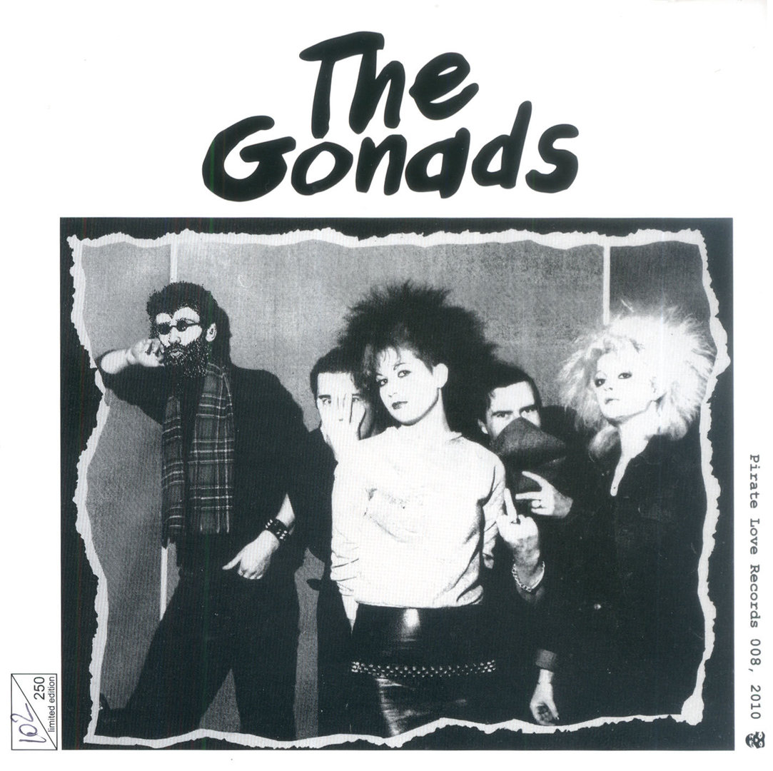 GONADS, THE - Live - The Official Bootleg 1977 – 1982 CD (NEW) (P)