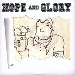 "HOPE & GLORY - Hope & Glory EP (RED VINYL) 7"" + P/S (NEW) (P)"