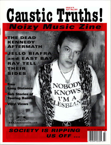 CAUSTIC TRUTHS - Issue 78 (April / May 2001) FANZINE