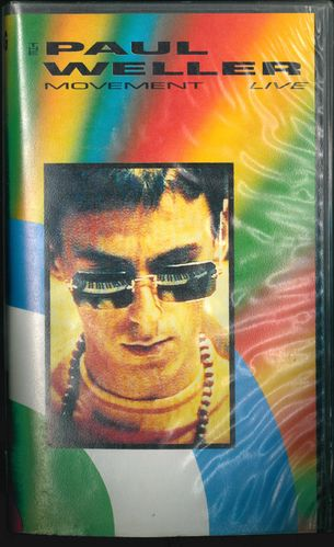 PAUL WELLER MOVEMENT - LIVE! - *[VHS VIDEO]* (EX)