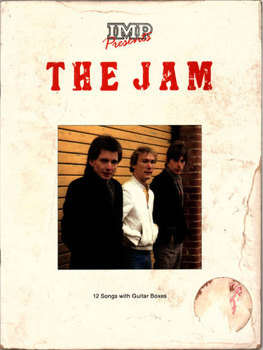 "JAM, THE - IMP PRESENTS 12"" SONGS WITH GUITAR BOXES - BOOK (VG-)"