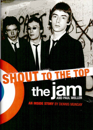 JAM, THE - SHOUT TO THE TOP - BOOK (EX)