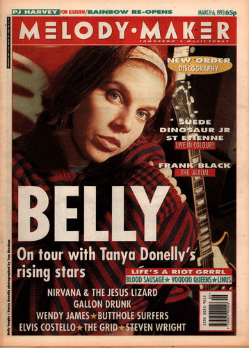 MELODY MAKER - 6th March 1993 (EX)