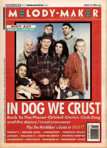 MELODY MAKER - 13th March 1993 (EX)