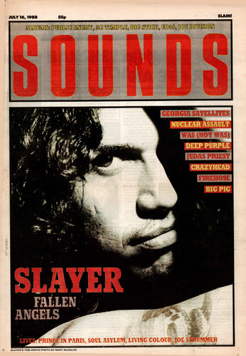 SOUNDS - 16th July 1988 (EX)