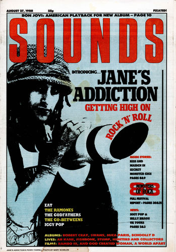 SOUNDS - 27th August 1988 (VG+)