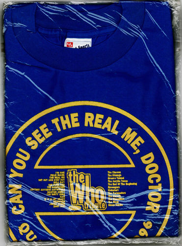 WHO, THE - A TRIBUTE TO THE WHO T-SHIRT (SIZE: MEDIUM ONLY - JAPANESE PROMO SHIRT)