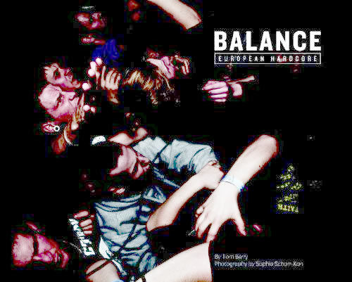 BALANCE - European Hardcore by Tom Barry BOOK (EX)