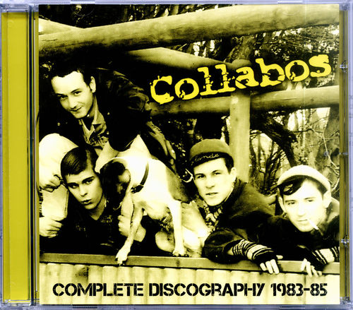COLLABOS - Complete Discography 1983 - 1985 CD (NEW) (P)
