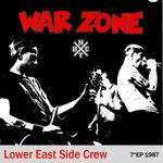 "WARZONE - Lower East Side Crew (RED WAX) EP 7"" + P/S (NEW) (P)"