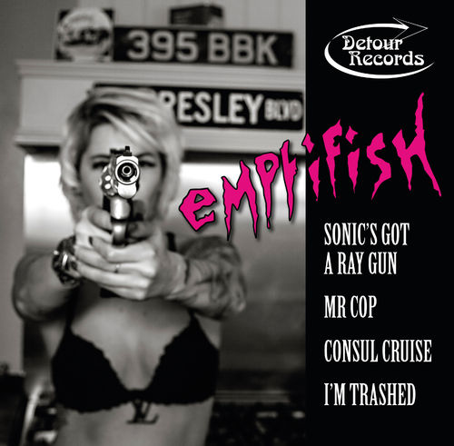 EMPTIFISH - Sonic's Got A Ray Gun EP CDs (NEW) (M)