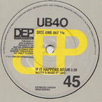 "UB40 - If It Happens Again 12"" (-/VG+) (M)"