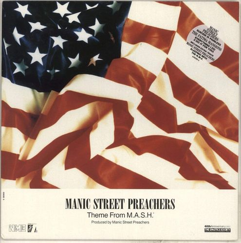 "MANIC STREET PREACHERS / THE FATIMA MANSIONS - Theme From M.A.S.H. EP 12"" (EX/VG+) (P)"