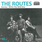 "ROUTES, THE - Stormy / Willie The Wild One (BLUE VINYL) 7"" + P/S (NEW) (M)"