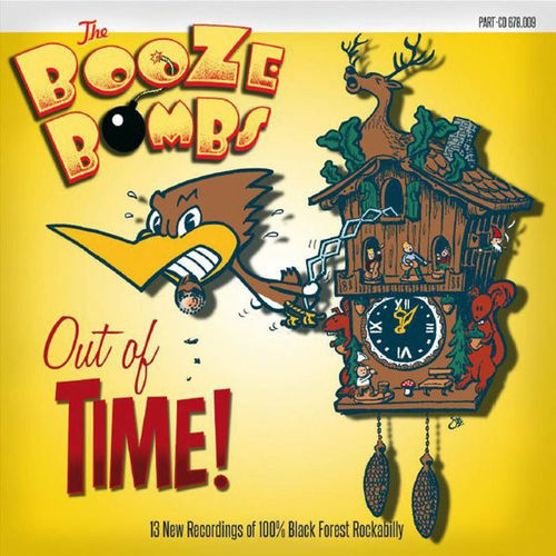 BOOZE BOMBS, THE - Out Of Time - CD (NEW) (P)