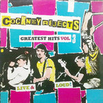 COCKNEY REJECTS, THE - Greatest Hits #3 LP (VG-/VG) (P)