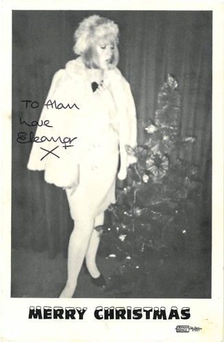 "ELEANOR RIGBY - Signed 4"" x 6"" Christams Card (EX) (M)"