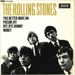 "ROLLING STONES, THE - Bye Bye Johnny EP 7"" + P/S (EX/EX) (M)"