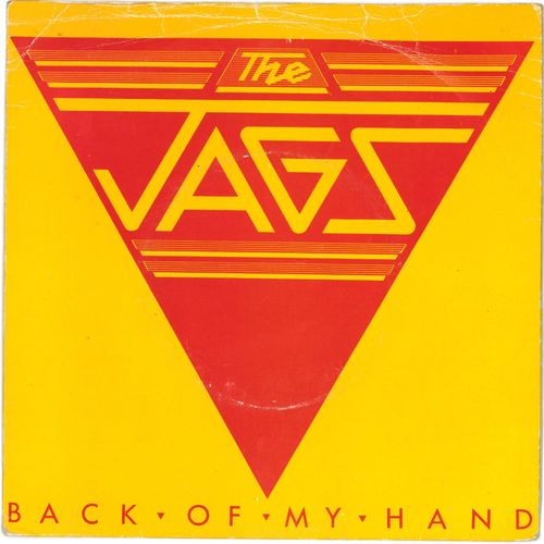 "JAGS, THE - Back Of My Hand 7"" + P/S (VG/VG+) (M)"