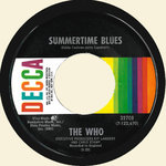 "WHO, THE - Summertime Blues / Heaven And Hell  7"" (-/VG+)"