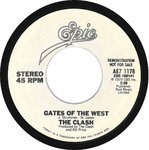 "CLASH, THE - Gates Of The West / Groovy Times (W/L DEMO) 7"" (-/EX) (P)"