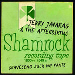 JERRY JAMRAG & THE AFTERBIRTHS - Gravesend Suck My Pants CD (NEW) (P) <<< SEE RELEASE DATE BELOW >>>